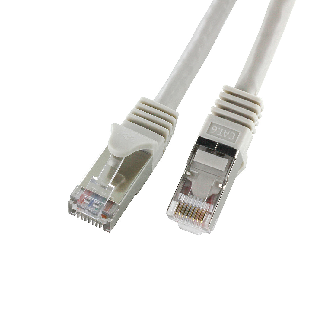 CAT6 GREY F/UTP SHIELDED NETWORK PATCH CABLE