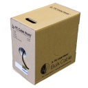 [PW607D] CAT6 1000' SOLID UTP NETWORK BULK CABLE (Black)