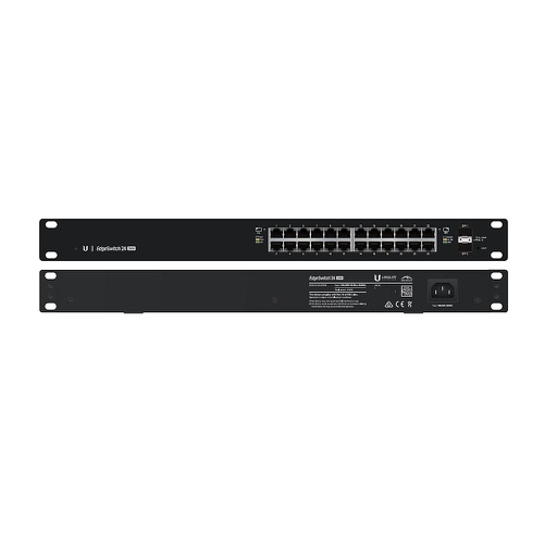 [UBES24250] UBIQUITI EDGESWITCH 24-PORT/2 SFP POE+ SWITCH (250W)