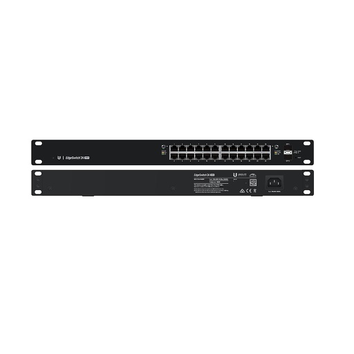 [UBES24500] UBIQUITI EDGESWITCH 24-PORT/2 SFP POE+ SWITCH (500W)