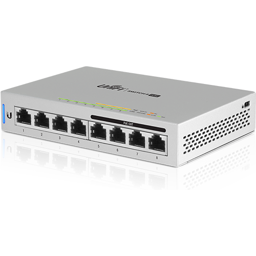 [UBUS860] UBIQUITI UNIFI 8-PORT (4-POE) SWITCH (60W)