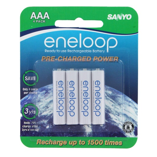 [SERAAA4] PANASONIC ENELOOP RECHARGEABLE BATTERY AAA (4 / PACK)