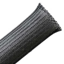 "[HTFREB1B] HELLERMANN 1"" FRAY-RESISTANT EXPANDABLE BRAIDED SLEEVING - 50'"