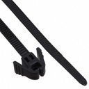 "[RV200B] HELLERMANN 8"" PINCH RELEASABLE CABLE TIE BLACK (100/PACK)"