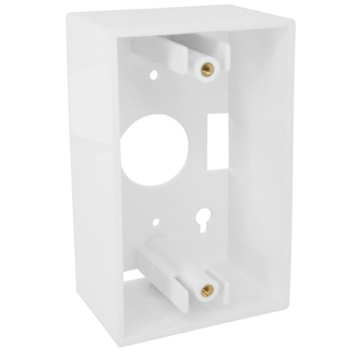 [SJ721] WHITE BACK BOX FOR WALL PLATES