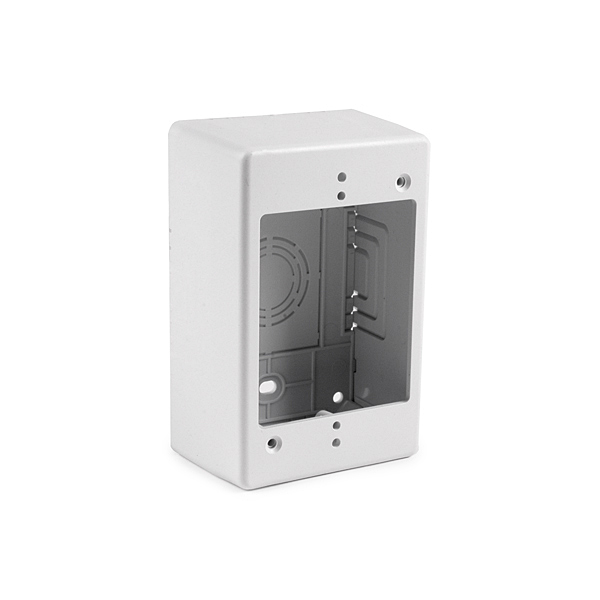 "[HTJB2] JUNCTION BOX 2"" DEPTH-WHITE"