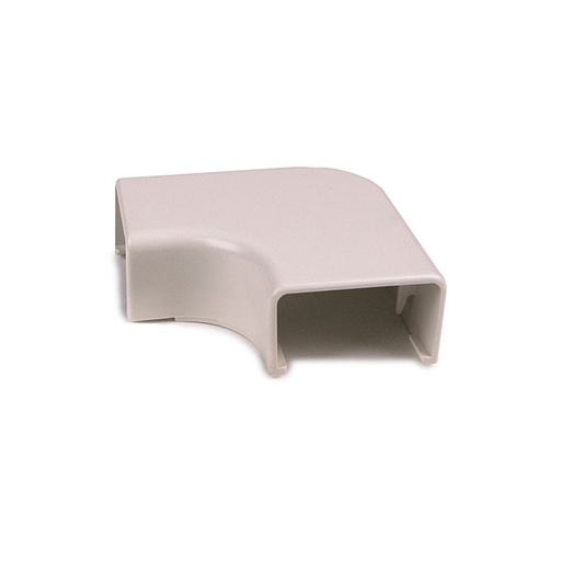 "[HTEC1W] 0.75"" ELBOW COVER  -  WHITE"