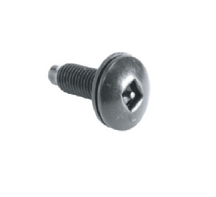 [MAHSK] MIDDLE ATLANTIC SQUARE DRIVE SCREWS WITH SECURITY PIN (100/BAG)