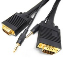 SVGA (HD15) M/M WITH 3.5MM AUDIO VIDEO CABLE (FT4/CMG)