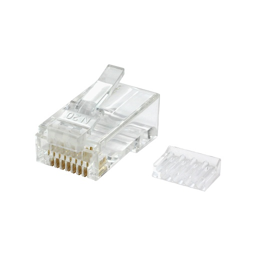 [C6452] RJ45 CAT6 UTP SOLID/STRANDED CONNECTOR (50/BAG)