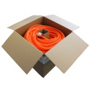 "[CTP34ORB] 0.75"" SPLIT WIRE CONVOLUTED LOOM ORANGE - 550' (BULK SPOOL)"