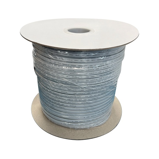 [PW445] PHONE WIRE 8C SILVER 1000' ROLL RJ45