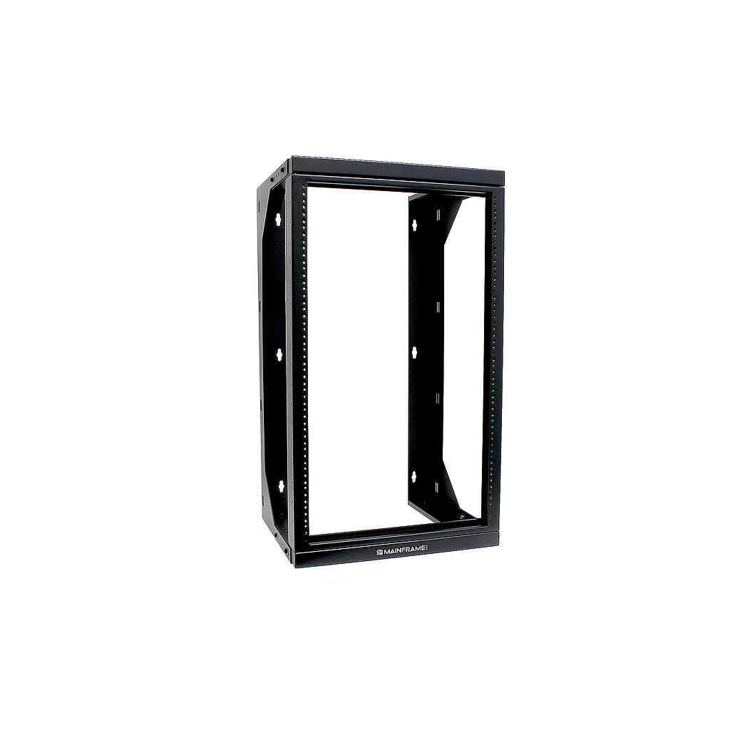 "[MFADSRR18U] MAINFRAME 18U ADJUSTABLE 18""-26"" DUAL SWING RELAY RACK"