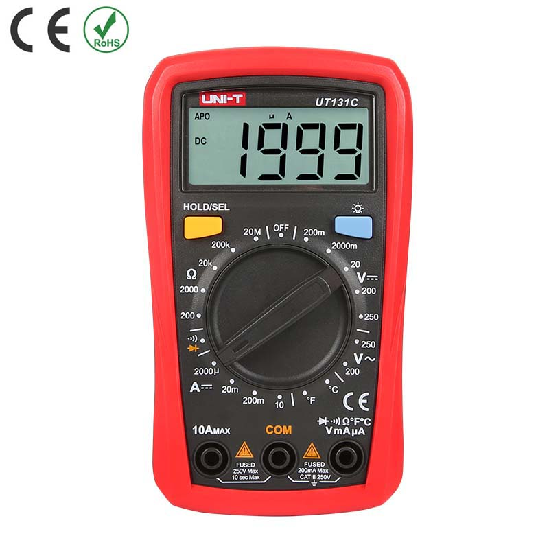 [UT131C] UNI-T PALM SIZE DIGITAL MULTIMETER