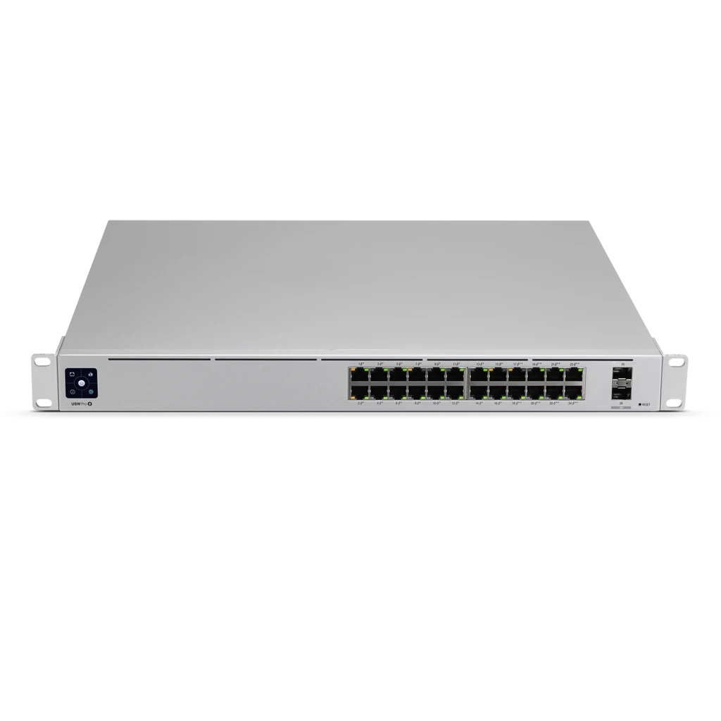 [UBUSWPRO24POE] UBIQUITI UNIFI GEN2 24-PORT 16 POE+ 8 POE++ 2 SFP+ 10-GIG SWITCH (400W)