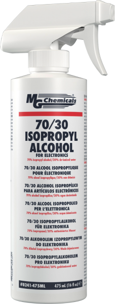 [CA8241475] MG CHEMICALS 70/30 ISOPROPYL ALCOHOL W/ TRIGGER SPRAY