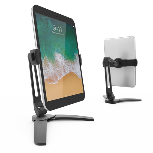 KANTO DOUBLE JOINTED PHONE & TABLET STAND W/ FOLDING LEGS